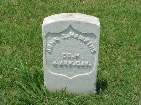 HAWKINS (VETERAN UNION), JOHN S - Pulaski County, Arkansas | JOHN S HAWKINS (VETERAN UNION) - Arkansas Gravestone Photos