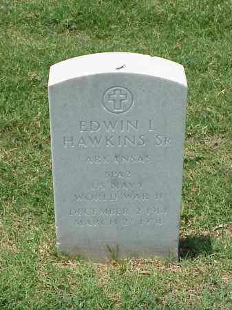 HAWKINS, SR (VETERAN WWII), EDWIN L - Pulaski County, Arkansas | EDWIN L HAWKINS, SR (VETERAN WWII) - Arkansas Gravestone Photos