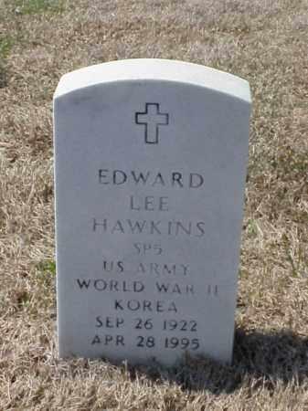 HAWKINS (VETERAN 2 WARS), EDWARD LEE - Pulaski County, Arkansas | EDWARD LEE HAWKINS (VETERAN 2 WARS) - Arkansas Gravestone Photos