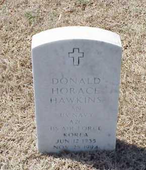 HAWKINS (VETERAN KOR), DONALD HORACE - Pulaski County, Arkansas | DONALD HORACE HAWKINS (VETERAN KOR) - Arkansas Gravestone Photos