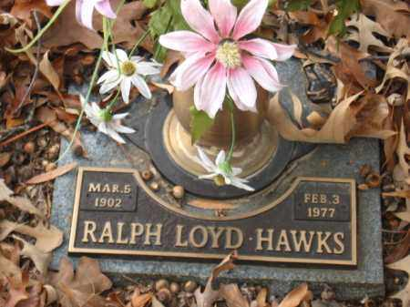 HAWKS, RALPH LOYD - Pulaski County, Arkansas   RALPH LOYD HAWKS - Arkansas Gravestone Photos