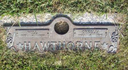 HAWTHORNE, WILL - Pulaski County, Arkansas   WILL HAWTHORNE - Arkansas Gravestone Photos