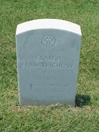 HAWTHORNE (VETERAN WWII), ELMER - Pulaski County, Arkansas | ELMER HAWTHORNE (VETERAN WWII) - Arkansas Gravestone Photos