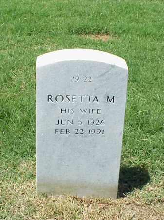 HAYES, ROSETTA M - Pulaski County, Arkansas | ROSETTA M HAYES - Arkansas Gravestone Photos