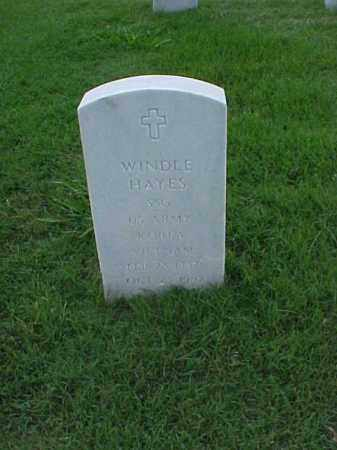 HAYES (VETERAN 2 WARS), WINDLE - Pulaski County, Arkansas | WINDLE HAYES (VETERAN 2 WARS) - Arkansas Gravestone Photos