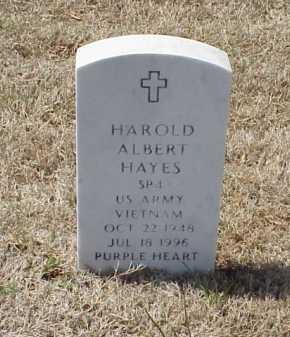 HAYES (VETERAN VIET), HAROLD ALBERT - Pulaski County, Arkansas | HAROLD ALBERT HAYES (VETERAN VIET) - Arkansas Gravestone Photos