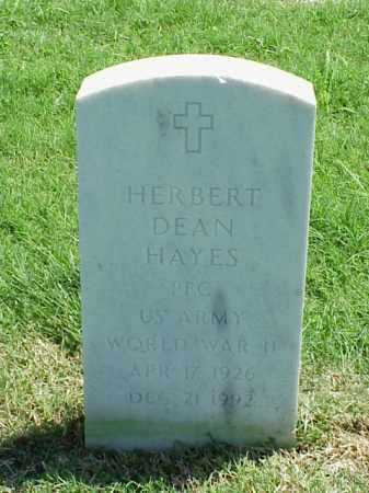 HAYES (VETERAN WWII), HERBERT DEAN - Pulaski County, Arkansas | HERBERT DEAN HAYES (VETERAN WWII) - Arkansas Gravestone Photos