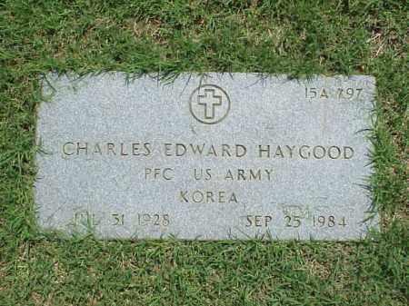 HAYGOOD (VETERAN KOR), CHARLES EDWARD - Pulaski County, Arkansas   CHARLES EDWARD HAYGOOD (VETERAN KOR) - Arkansas Gravestone Photos