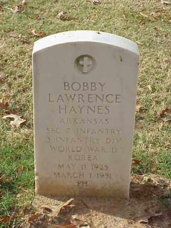 HAYNES  (VETERAN 2 WARS), BOBBY LAWRENCE - Pulaski County, Arkansas | BOBBY LAWRENCE HAYNES  (VETERAN 2 WARS) - Arkansas Gravestone Photos