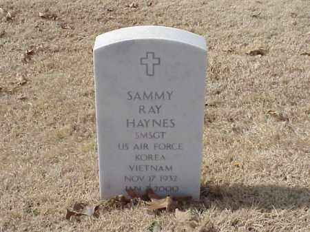 HAYNES  (VETERAN 2 WARS), SAMMY RAY - Pulaski County, Arkansas | SAMMY RAY HAYNES  (VETERAN 2 WARS) - Arkansas Gravestone Photos