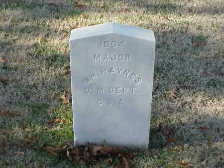 HAYNES (VETERAN CSA), WILLIAM - Pulaski County, Arkansas   WILLIAM HAYNES (VETERAN CSA) - Arkansas Gravestone Photos