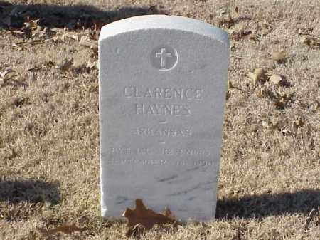 HAYNES  (VETERAN WWI), CLARENCE - Pulaski County, Arkansas | CLARENCE HAYNES  (VETERAN WWI) - Arkansas Gravestone Photos