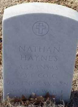 HAYNES  (VETERAN WWI), NATHAN - Pulaski County, Arkansas | NATHAN HAYNES  (VETERAN WWI) - Arkansas Gravestone Photos