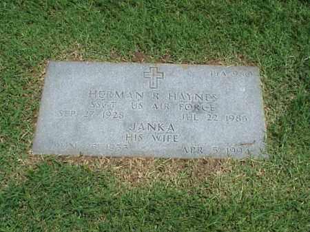 HAYNES, JANKA - Pulaski County, Arkansas | JANKA HAYNES - Arkansas Gravestone Photos