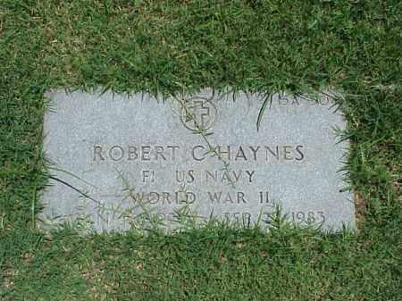 HAYNES (VETERAN WWII), ROBERT C - Pulaski County, Arkansas   ROBERT C HAYNES (VETERAN WWII) - Arkansas Gravestone Photos