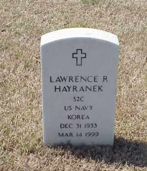 HAYRANEK (VETERAN KOR), LAWRENCE R - Pulaski County, Arkansas | LAWRENCE R HAYRANEK (VETERAN KOR) - Arkansas Gravestone Photos