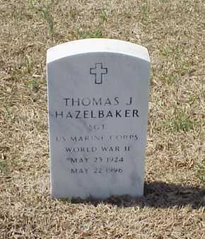 HAZELBAKER (VETERAN WWII), THOMAS J - Pulaski County, Arkansas   THOMAS J HAZELBAKER (VETERAN WWII) - Arkansas Gravestone Photos