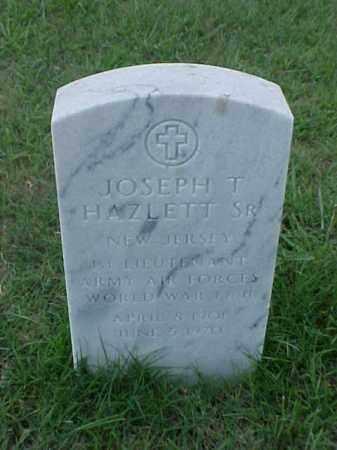 HAZLETT,SR (VETERAN 2 WARS), JOSEPH THOMAS - Pulaski County, Arkansas | JOSEPH THOMAS HAZLETT,SR (VETERAN 2 WARS) - Arkansas Gravestone Photos
