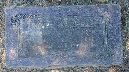 HEAD, THOMAS EDGAR - Pulaski County, Arkansas | THOMAS EDGAR HEAD - Arkansas Gravestone Photos