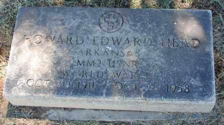HEAD (VETERAN WWII), HOWARD EDWARD - Pulaski County, Arkansas   HOWARD EDWARD HEAD (VETERAN WWII) - Arkansas Gravestone Photos