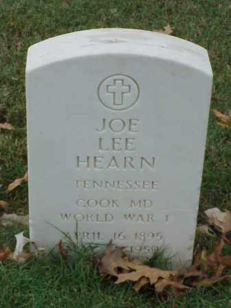 HEARN  (VETERAN WWI), JOE LEE - Pulaski County, Arkansas | JOE LEE HEARN  (VETERAN WWI) - Arkansas Gravestone Photos