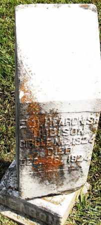 HEARON, SR, E D - Pulaski County, Arkansas   E D HEARON, SR - Arkansas Gravestone Photos