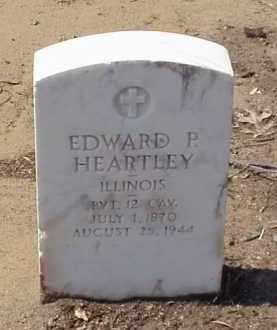 HEARTLEY (VETERAN SAW), EDWARD P - Pulaski County, Arkansas | EDWARD P HEARTLEY (VETERAN SAW) - Arkansas Gravestone Photos