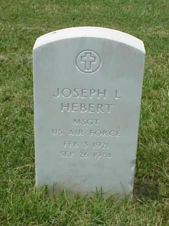 HEBERT, JR (VETERAN), JOSEPH L - Pulaski County, Arkansas | JOSEPH L HEBERT, JR (VETERAN) - Arkansas Gravestone Photos