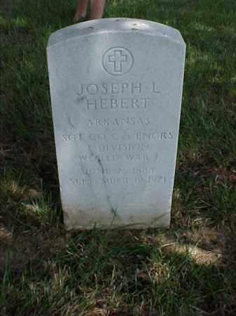 HEBERT (VETERAN WWI), JOSEPH L - Pulaski County, Arkansas | JOSEPH L HEBERT (VETERAN WWI) - Arkansas Gravestone Photos