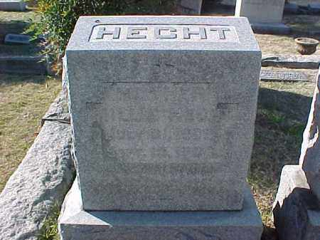 HECHT, MILLIE - Pulaski County, Arkansas   MILLIE HECHT - Arkansas Gravestone Photos