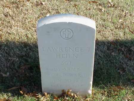 HEIEN  (VETERAN WWII), LAWRENCE T - Pulaski County, Arkansas | LAWRENCE T HEIEN  (VETERAN WWII) - Arkansas Gravestone Photos