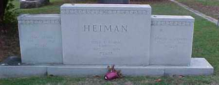 HEIMAN STONE OVERVIEW, . - Pulaski County, Arkansas | . HEIMAN STONE OVERVIEW - Arkansas Gravestone Photos