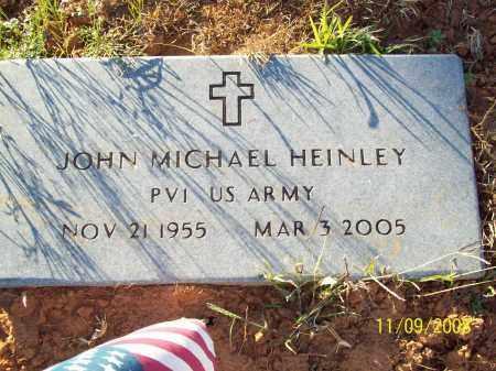 HEINLEY  (VETERAN), JOHN MICHAEL - Pulaski County, Arkansas | JOHN MICHAEL HEINLEY  (VETERAN) - Arkansas Gravestone Photos