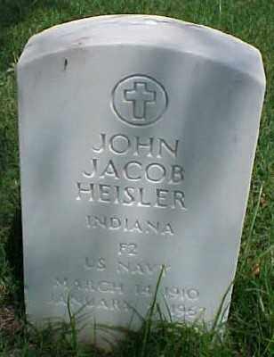HEISLER (VETERAN WWII), JOHN JACOB - Pulaski County, Arkansas | JOHN JACOB HEISLER (VETERAN WWII) - Arkansas Gravestone Photos