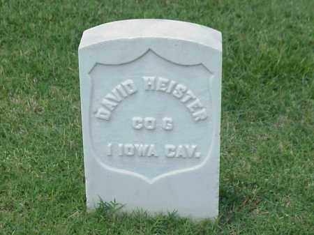 HEISTER (VETERAN UNION), DAVID - Pulaski County, Arkansas   DAVID HEISTER (VETERAN UNION) - Arkansas Gravestone Photos