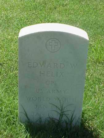 HELIX (VETERAN WWII), EDWARD W - Pulaski County, Arkansas   EDWARD W HELIX (VETERAN WWII) - Arkansas Gravestone Photos