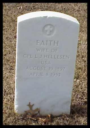 HELLESEN, FAITH - Pulaski County, Arkansas | FAITH HELLESEN - Arkansas Gravestone Photos