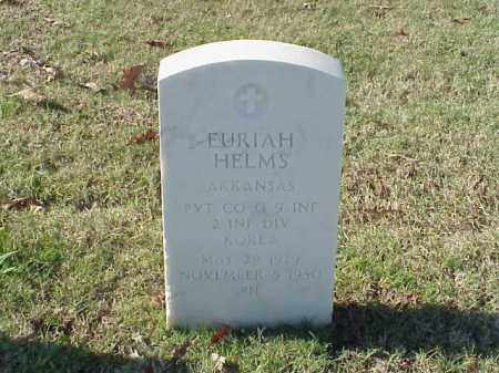 HELMS  (VETERAN KOR), EURIAH - Pulaski County, Arkansas | EURIAH HELMS  (VETERAN KOR) - Arkansas Gravestone Photos