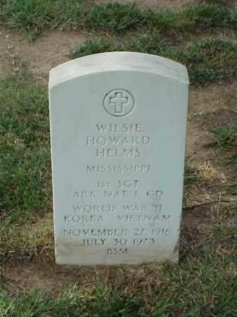HELMS (VETERAN 3 WARS), WILSIE HOWARD - Pulaski County, Arkansas   WILSIE HOWARD HELMS (VETERAN 3 WARS) - Arkansas Gravestone Photos