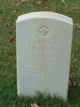 HELTON  (VETERAN WWI), DAVIS B - Pulaski County, Arkansas | DAVIS B HELTON  (VETERAN WWI) - Arkansas Gravestone Photos