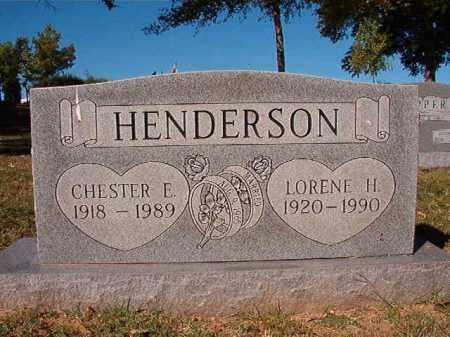 HENDERSON, LORENE H - Pulaski County, Arkansas | LORENE H HENDERSON - Arkansas Gravestone Photos
