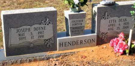 HENDERSON, ETTA DEAN - Pulaski County, Arkansas | ETTA DEAN HENDERSON - Arkansas Gravestone Photos