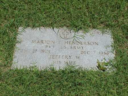 HENDERSON, JEFFERY W - Pulaski County, Arkansas   JEFFERY W HENDERSON - Arkansas Gravestone Photos
