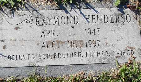 HENDERSON, RAYMOND - Pulaski County, Arkansas   RAYMOND HENDERSON - Arkansas Gravestone Photos