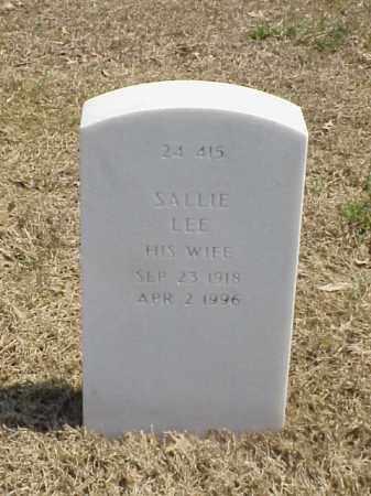 HENDERSON, SALLIE LEE - Pulaski County, Arkansas | SALLIE LEE HENDERSON - Arkansas Gravestone Photos