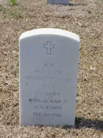 HENDERSON, SR (VETERAN WWII), JOE NATHAN - Pulaski County, Arkansas   JOE NATHAN HENDERSON, SR (VETERAN WWII) - Arkansas Gravestone Photos