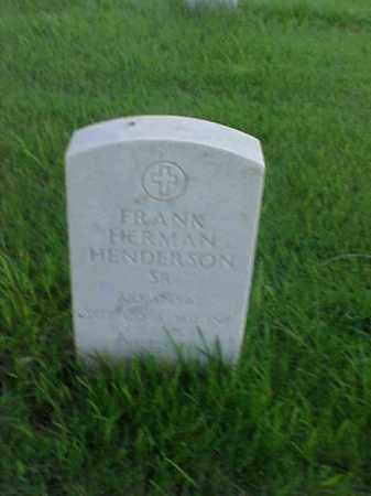 HENDERSON, SR (VETERAN VIET), FRANK HERMAN - Pulaski County, Arkansas   FRANK HERMAN HENDERSON, SR (VETERAN VIET) - Arkansas Gravestone Photos