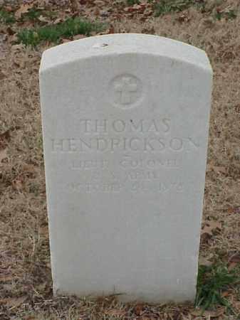 HENDRICKSON (VETERAN UNION), THOMAS - Pulaski County, Arkansas | THOMAS HENDRICKSON (VETERAN UNION) - Arkansas Gravestone Photos