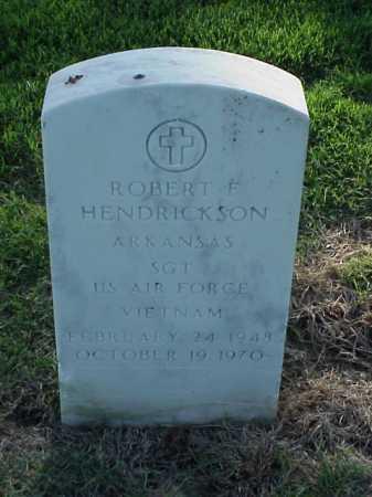 HENDRICKSON (VETERAN VIET), ROBERT F - Pulaski County, Arkansas | ROBERT F HENDRICKSON (VETERAN VIET) - Arkansas Gravestone Photos