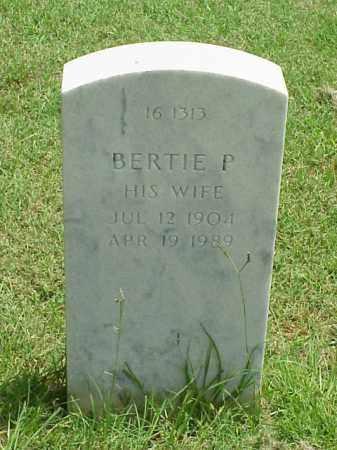 HENSLEE, BERTIE P - Pulaski County, Arkansas   BERTIE P HENSLEE - Arkansas Gravestone Photos